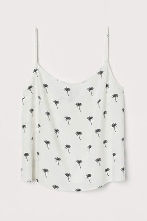 Viscose Tank Top - White