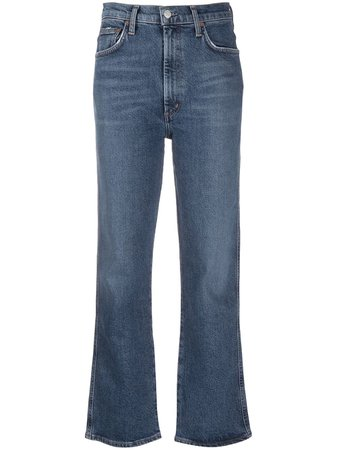 AGOLDE high-rise kick-flare Jeans - Farfetch