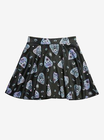 Pastel Plachette Skater Skirt