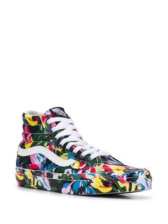 Kenzo x Vans SK8-Hi Tulipes Sneakers - Farfetch