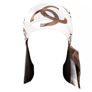 brown hair with chanel headband png