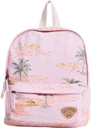 Mini Mama Print Backpack
