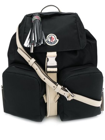 Moncler logo-patch Backpack - Farfetch