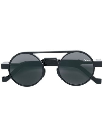 Vava Round Frame Sunglasses - Farfetch