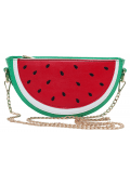 WATERMELON SLICE SHOULDER BAG
