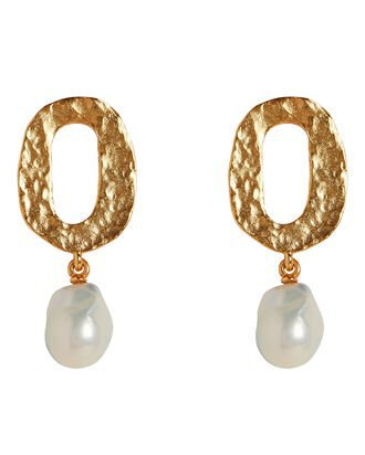 Oscar de la Renta Twisted Cage Drop Earrings | INTERMIX®