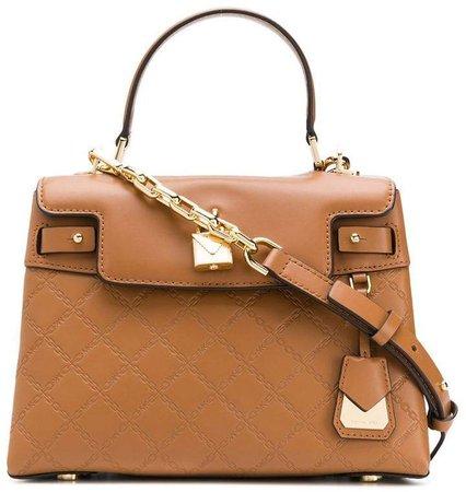 Gramercy chain-embossed bag