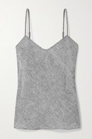 Kita Linen Camisole - Dark gray