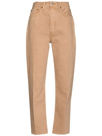 RE/DONE 70s Stove Pipe straight-leg Jeans - Farfetch