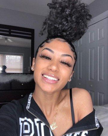 messy hair black girl - Google Search