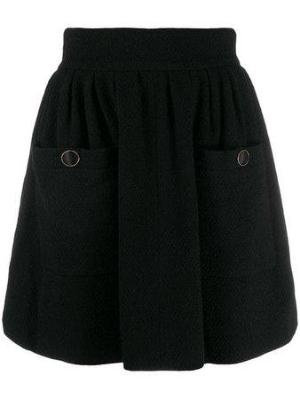 Chanel Vintage 1990's A-line Mini Skirt - Farfetch