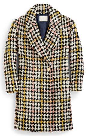 J.Crew Collection Oversize Lurex® Tweed Coat | Nordstrom