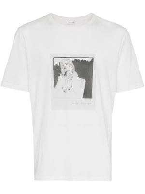 Saint Laurent Cotton T-Shirt