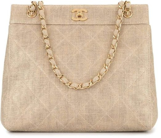 Pre-Owned 1998 diamond quilted shoulder bag