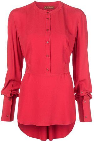 Federica long-sleeve blouse