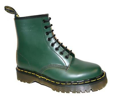 Dr Martens - Green Boot 1460 (8 Eyelet) (Vintage Collection - Made in England)