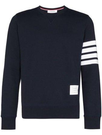 Thom Browne Engineered 4-Bar Jersey Sweatshirt - Farfetch