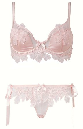 Agent Provocateur | Seraphina set in pink