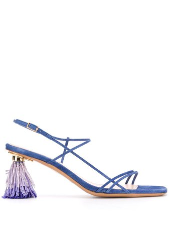 Jacquemus Les Raphia 70Mm Sandals Ss20 | Farfetch.com
