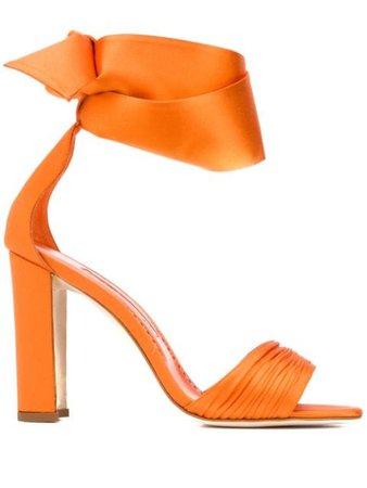 Manolo Blahnik Misami Ankle Sandals Ss20   Farfetch.com