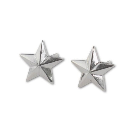 Sterling Silver Star Stud Earrings – aymcollections