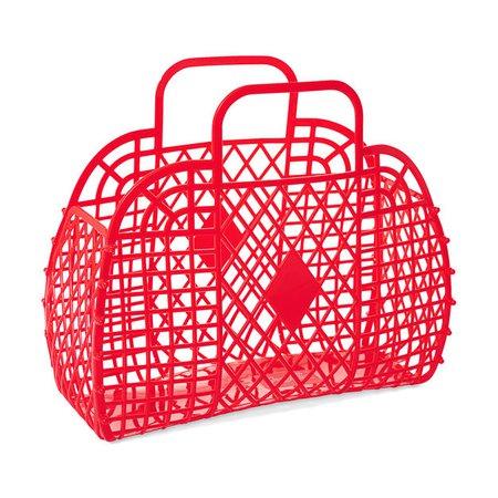 Retro Basket, Red   MoMA Design Store   MoMA Design Store