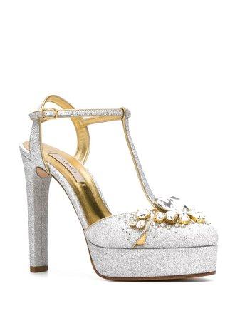 Casadei embellished Mary Jane pumps