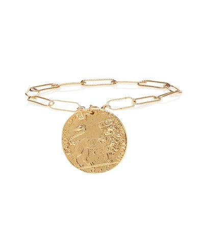 Il Leone 24Kt Gold Plated Bracelet - Alighieri   mytheresa