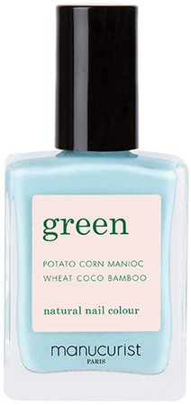 Green Nail Lacquer - Seagreen