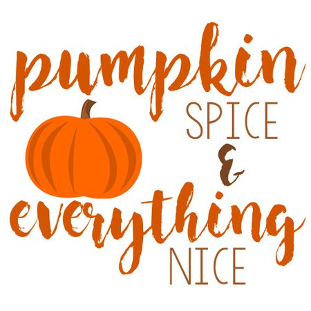 pumpkin spice text - Google Search