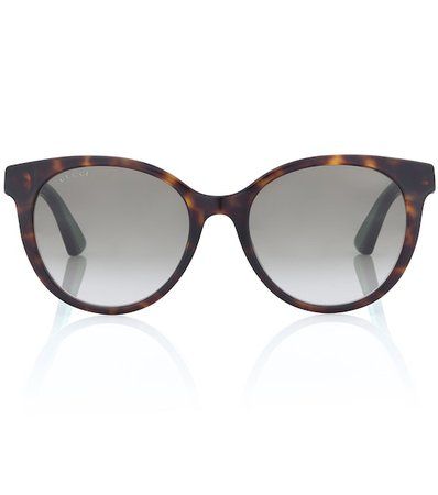 Round Acetate Sunglasses - Gucci | Mytheresa