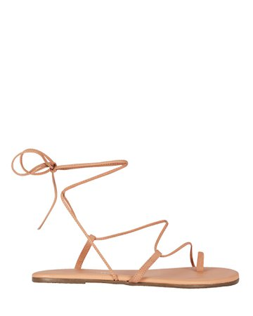 TKEES Jo Leather Lace-Up Sandals | INTERMIX®