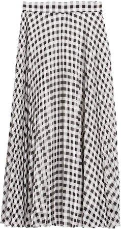 JAPAN EXCLUSIVE Pleated Midi Skirt