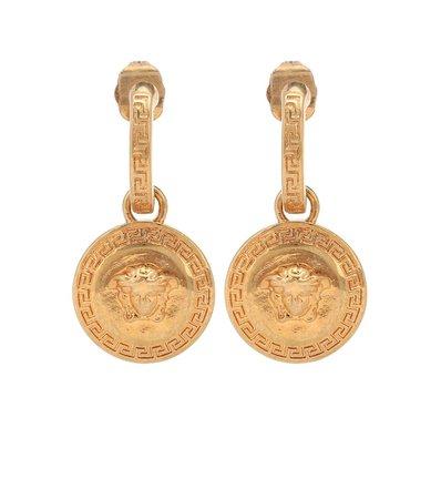 Versace - Medusa earrings | Mytheresa