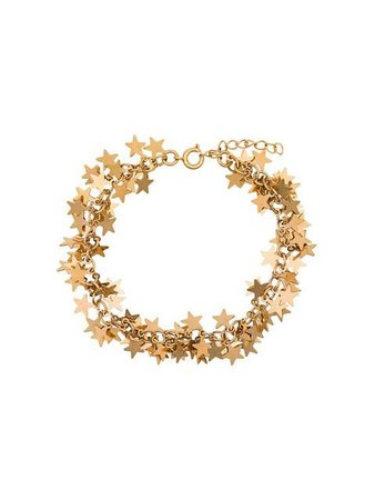 Malaika Raiss gold tone stars bracelet £90 - Shop Online - Fast Global Shipping, Price