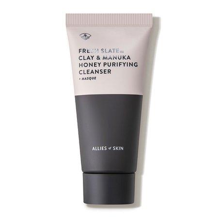 Allies of Skin FRESH SLATE™ Clay & Manuka Honey Purifying Cleanser + Masque - Dermstore