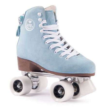 Bring back the feeling of the 70ies disco-boogie days when it all began with these BTFL Roller Skate Classics! These skates have a timeless design and resemble a classic figure skating look…