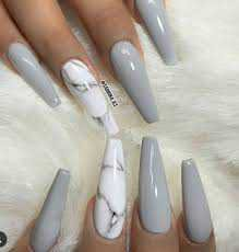 gray nails - Google Search