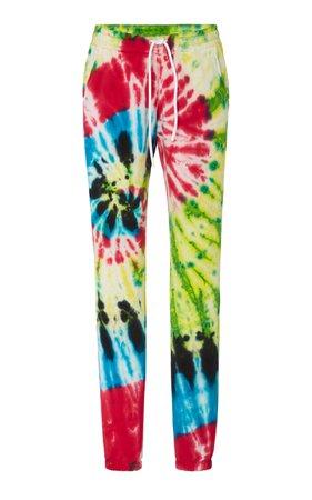 Cotton Citizen Boulder Tie-Dye Cotton-Terry Track Pants Size: M