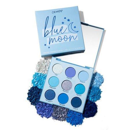 Blue Moon Eyeshadow Palette   ColourPop