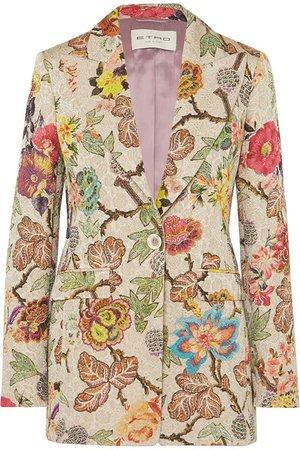 Etro | Floral brocade blazer | NET-A-PORTER.COM
