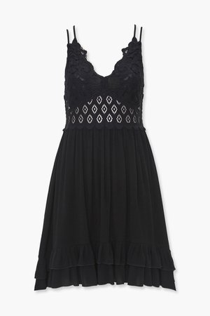 Caged Cami Lace Dress | Forever 21