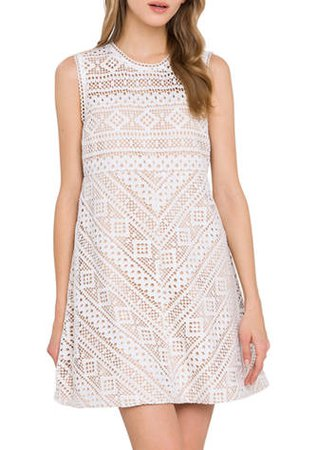 Endless Rose Embroidered Mini Dress
