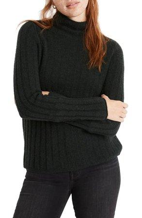 Madewell Evercrest Turtleneck Sweater   Nordstrom