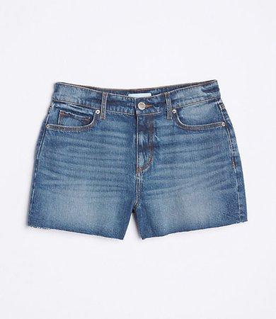 Denim Shorts in Rich Indigo