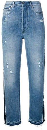 Pt05 panelled mom jeans