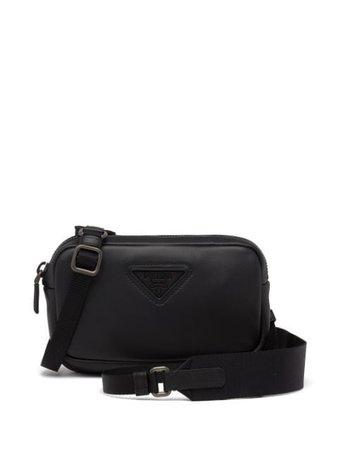 Prada compact logo shoulder bag - FARFETCH