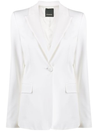 Pinko Single-Button Tailored Blazer | Farfetch.com