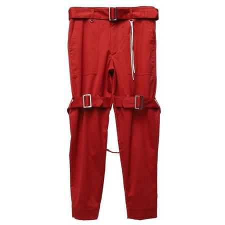 MASTERMIND WORLD PANTS 014 / 1 : RED