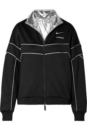 Nike   + AMBUSH NRG reversible tech-jersey and shell track jacket   NET-A-PORTER.COM